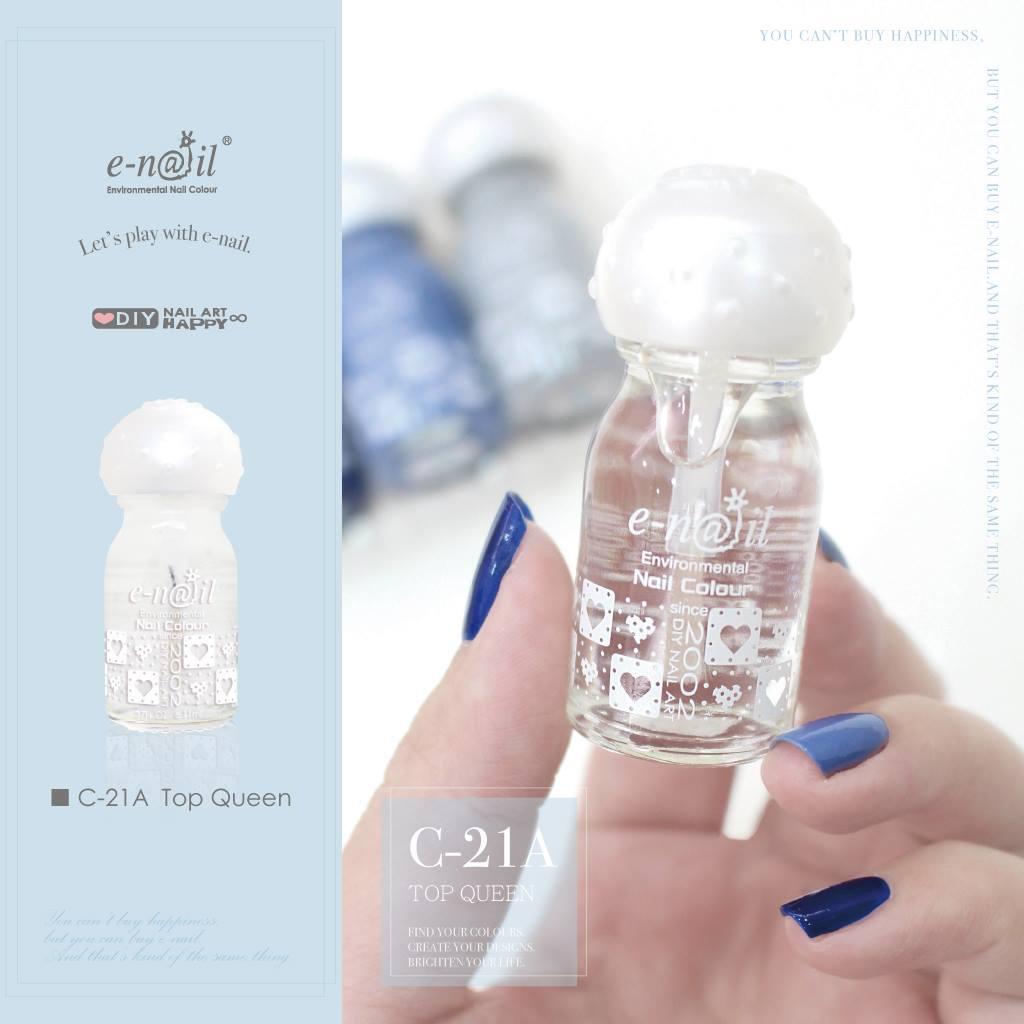 e-nail 亮面定色 C-21A Top Queen