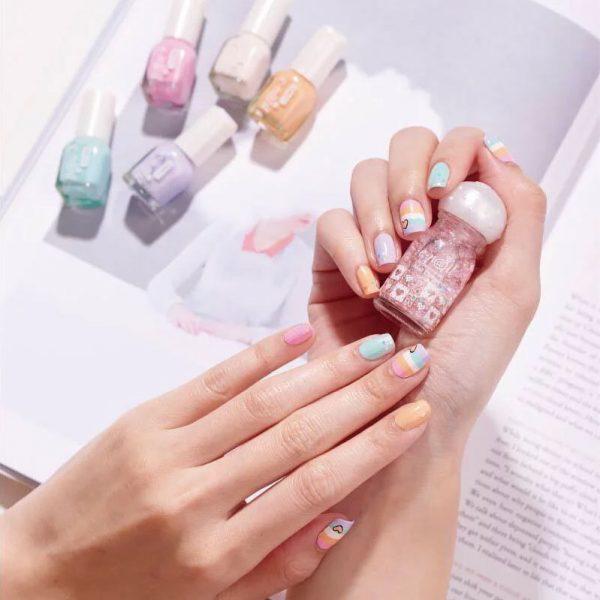 Baby e-nail 甜心寶貝5入組 CBK (可剝式水指甲)