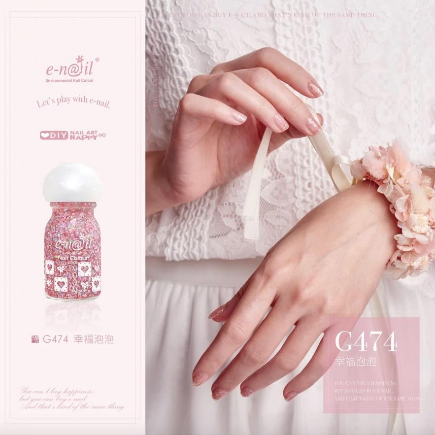 e-nail G474幸福泡泡