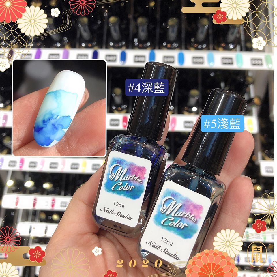 Marble Color 水藍色