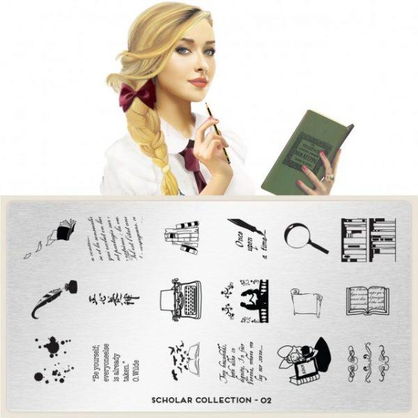 Moyou印花模板 Scholar02
