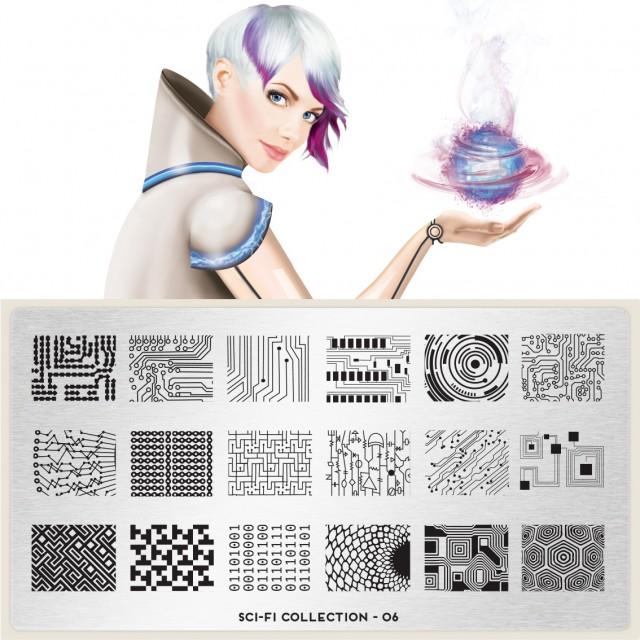 Moyou印花模板 Sci-Fi06