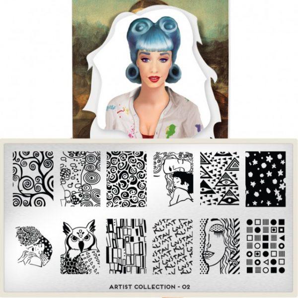 Moyou印花模板 Artist02