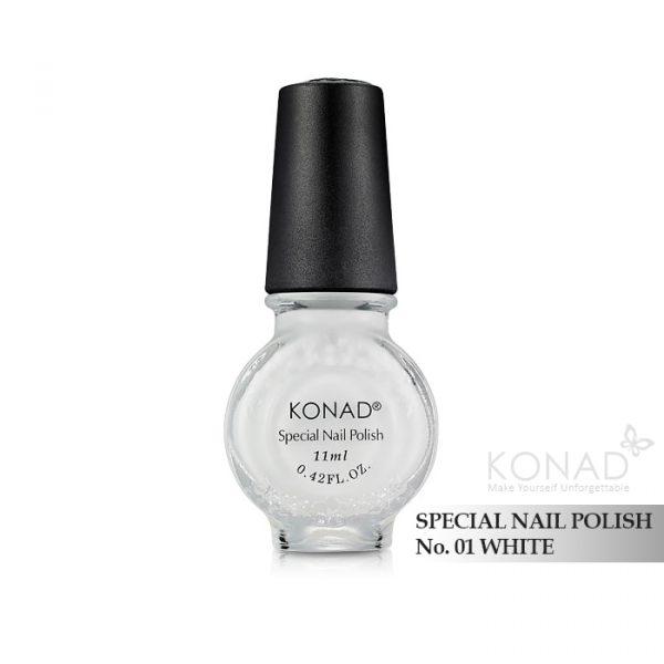 Konad 印花油 no.01 White