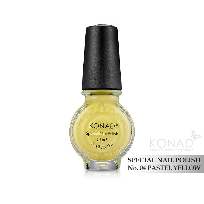 Konad 印花油 no.04 Pastel Yellow