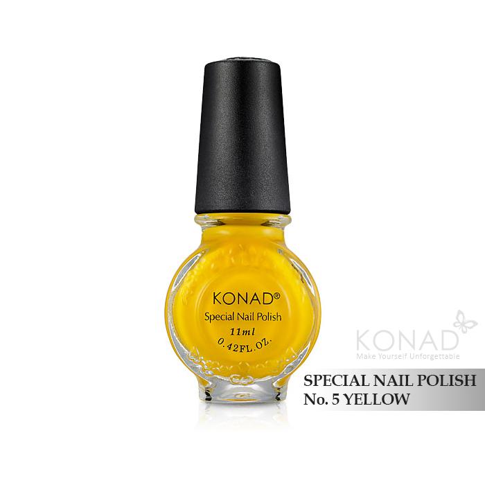 Konad 印花油 no.05 Yellow