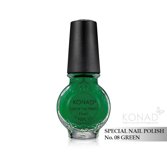 Konad 印花油 no.08 Green