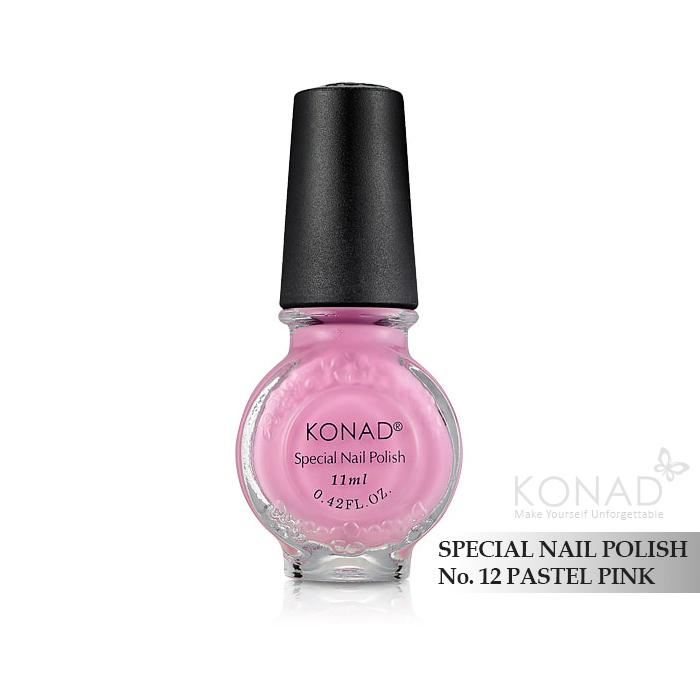 Konad 印花油 no.12 Pastel Pink