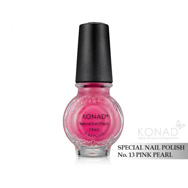 Konad 印花油 no.13 Pink Pearl