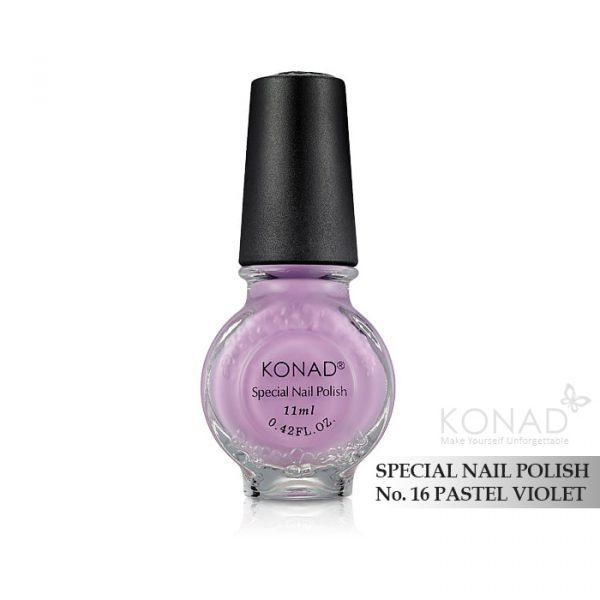 Konad 印花油 no.16 Pastel Violet