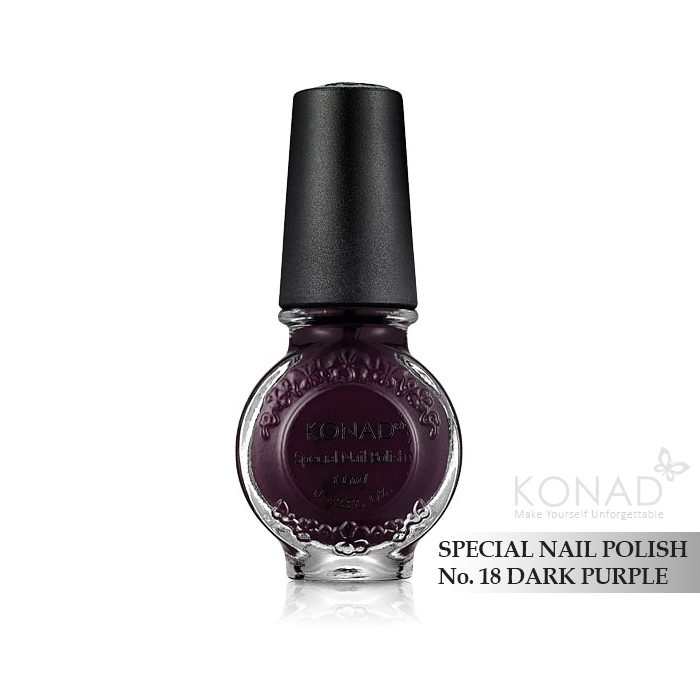 Konad 印花油 no.18 Dark Purple
