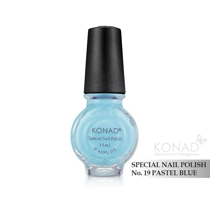 Konad 印花油 no.19 Pastel Blue