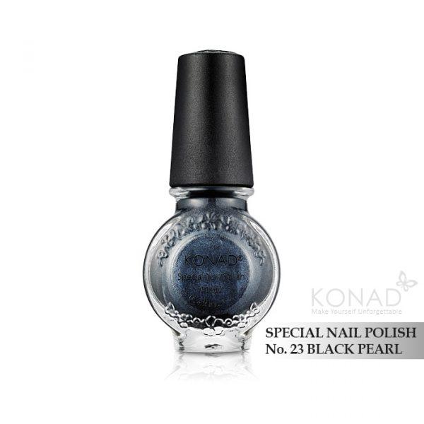 Konad 印花油 no.23 Black Pearl