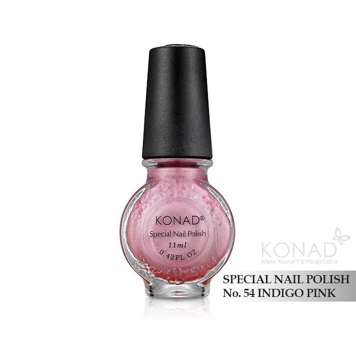 Konad 印花油 no.54 Indigo Pink