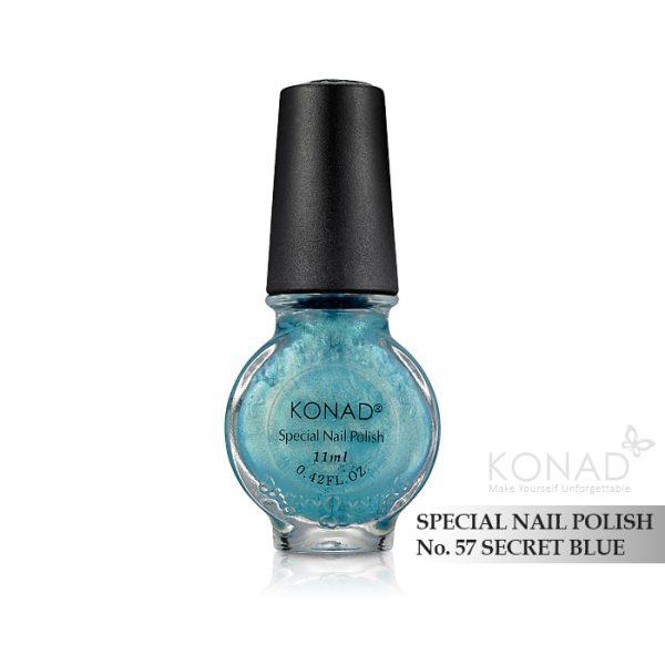 Konad 印花油 no.57 Secret Blue