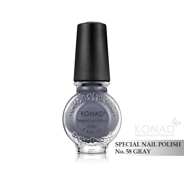 Konad 印花油 no.58 Gray